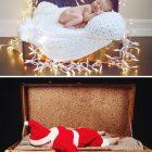 Ամանորյա զվարճալի ֆոտոշարք  փոքրիկ Ձմեռ պապիկների մասնակցությամբ