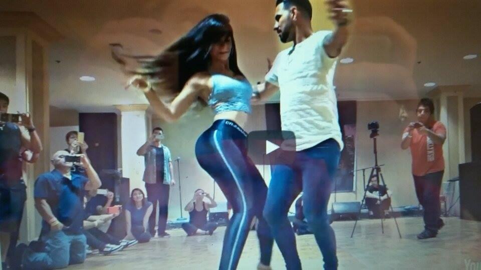 Բաչատա պարող հայտնի զույգի անչափ զգացմունքային կատարումը (տեսանյութ)