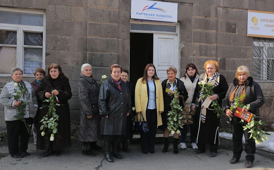 ԱԺ պատգամավորի թեկնածու Նորա Առուստամյանը հանդիպում ունեցավ Ոսկեվազ համայնքի բնակիչների հետ