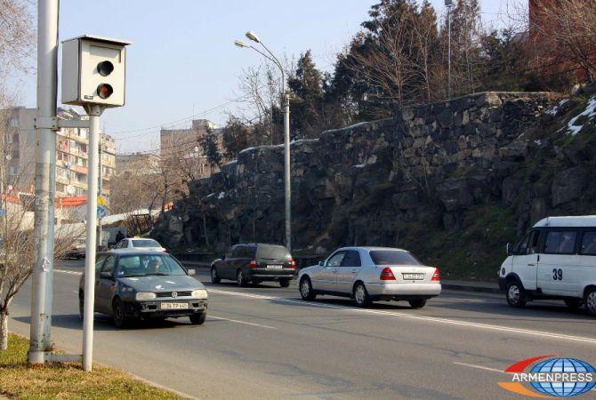 Ճանապարհային ոստիկանությունը տեղեկացնում է Երևանում արագաչափերի և տեսախցիկների գործարկման մասին