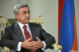 Նախագահ Սերժ Սարգսյանը աշխատանքային այցով մեկնել է Ղրղզստանի Հանրապետություն