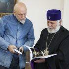 Ջոն Մալկովիչն այցելել է Էջմիածին ու հանդիպել Ամենայն հայոց կաթողիկոսի հետ (լուսանկարներ)