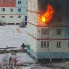 ՌԴ-ում մայրը 2 երեխաների հետ ցած է նետվել 3-րդ հարկի այրվող բնակարանից