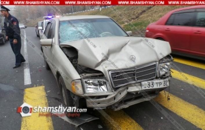 Երևանում բախվել են Mercedes-ները. վիրավորների մեջ երեխա կա