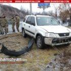 Երևանում ճանապարհի մերկասառույցի պատճառով ավտովթարների պակաս չկա