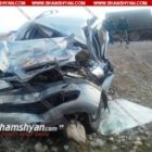 Խոշոր ավտովթար Արարատի մարզում. Opel-ը բախվել է ՀՀ ՊՆ ЗИЛ 131-ին. կան վիրավորներ (լուսանկարներ)
