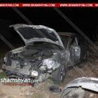 Խոշոր ավտովթար Երևանում. «Շեն Դեկոր» խանութ-սրահի դիմաց 22-ամյա վարորդը Nissan-ով բախվել է կայանված Honda-ին և «24»-ին (լուսանկարներ)