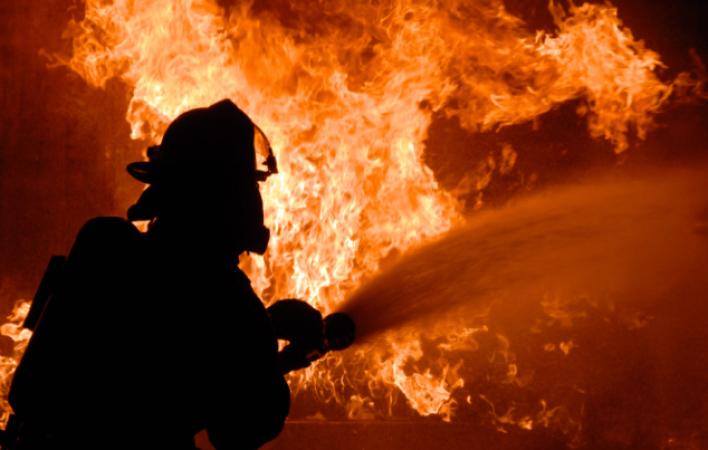Բրյուսովի փողոցում տուն է այրվել