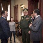 Ռուսաստանի ԶՈւ ՀՌՇ հրամանատարն այցելել է Հայրենիքի պաշտպանի վերականգնողական կենտրոն