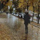 Կուբանում գունավոր անձրև է տեղացել
