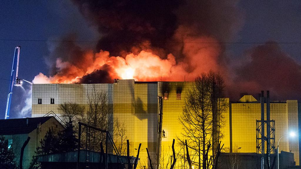 Այրված առևտրի կենտրոնի թինապահը հրդեհի ահազանգը ստանալուց հետո անջատել է ծանուցման համակարգը