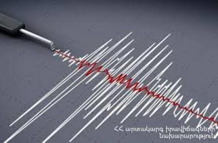 Անցած շաբաթվա ընթացքում Հայաստանում 6 թույլ երկրաշարժ է գրանցվել