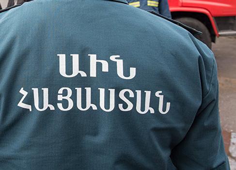 Փրկարարները մեկնել են «Շահամիր Շահամիրյան» կրթահամալիրի մոտ