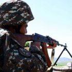 Բացի հրաձգային զինատեսակներից, շփման գծի հյուսիսային հատվածում ադրբեջանական զինուժը կիրառել է նաև հաստոցավոր ավտոմատ նռնականետ (3 արկ)
