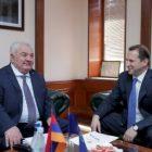 Դավիթ Տոնոյանը Խաչատուրովի հետ քննարկել է ՀԱՊԿ-ի դերը Հայաստանի անվտանգության ապահովման գործում