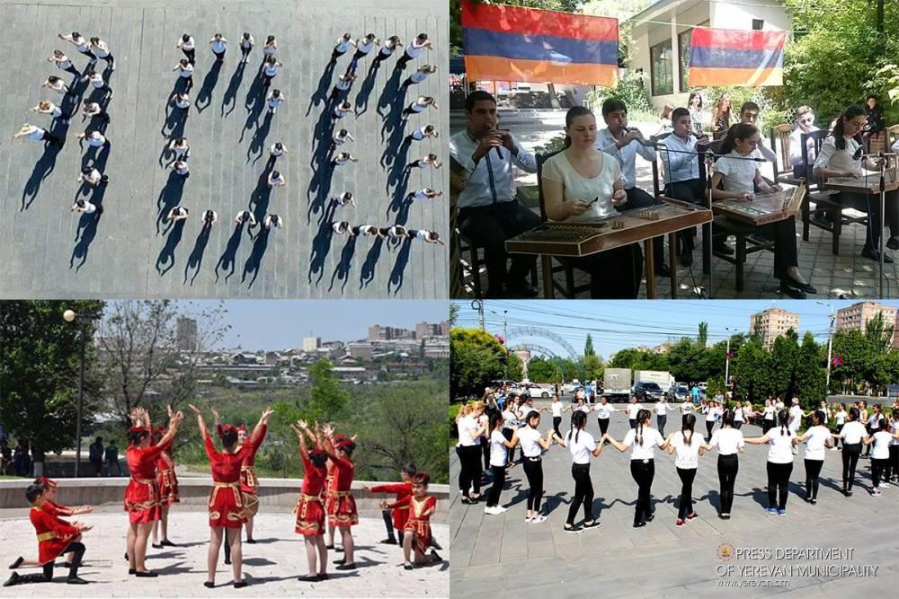 Մայրաքաղաքի վարչական շրջաններում մեկնարկել են Հայաստանի առաջին հանրապետության օրվան նվիրված միջոցառումները