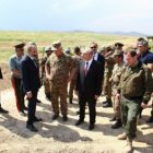 Նիկոլ Փաշինյանն ու Բակո Սահակյանն այցելել են Արցախի արևելյան սահմանագիծ
