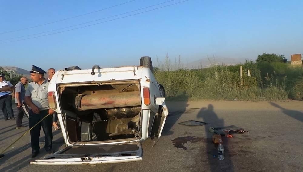 «ՎԱԶ-2104»-ը գլխիվայր շրջվել է. 36-ամյա վարորդը տեղում մահացել է