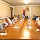 Բակո Սահակյանը քաղաքական հարցերով հանդիպումների շարք է սկսել