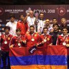 Հայաստանի ազատ ոճի ըմբշամարտի հավաքականը նվաճել է 5 մեդալ Եվրոպայի առաջնությունում