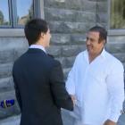 Գ. Ծառուկյանը հանդիպել է ամերիկահայ աթլետ Ալեքսանդր Դոնիկյանի հետ (տեսանյութ)