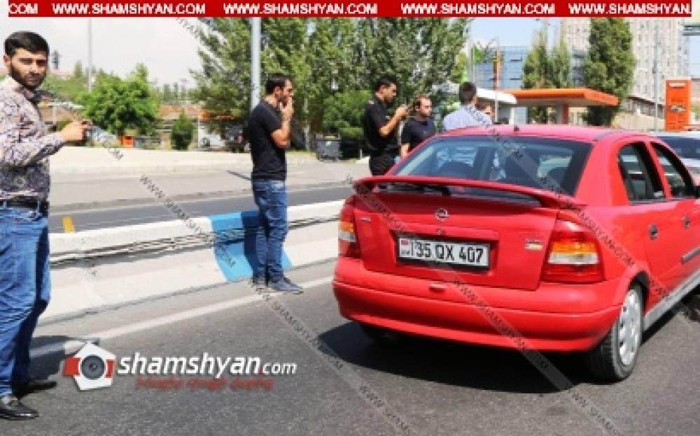 Շղթայական ավտովթար Երևանում. բախվել են Opel-ը, BMW-ն, Toyota-ն և Mazda-ն