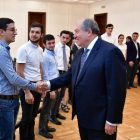 ԵՊՀ ուսանողները ՀՀ նախագահի հետ քննարկել են կրթաթոշակների տրամադրման մեխանիզմները