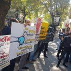 Բռնցքամարտի ներկայացուցիչները Արթուր Գևորգյանի դեմ իրենց բողոքի ձայնը հասցրին Գաբրիել Ղազարյանին (լուսանկարներ)
