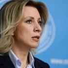Զախարովան անդրադարձել է «Կանայք հանուն խաղաղության» ակցիային և ռուս կանանց՝ Արցախ այցին