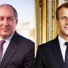 Հայաստանի և Ֆրանսիայի նախագահները այցելում են «Ազնավուր» կենտրոն. ուղիղ միացում