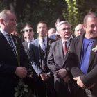 Գագիկ Ծառուկյանի աջակցությամբ Երևանում բացվել է Տարաս Շևչենկոյի արձանը (տեսանյութ)