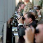 Դավիթ Տոնոյանը հետևել է հայ-ռուսական համատեղ մարտավարական զորավարժության ընթացքին