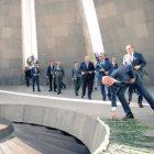 Բելգիայի վարչապետը հարգանքի տուրք է մատուցել Հայոց ցեղասպանության զոհերի հիշատակին (ֆոտո)