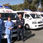 Թալինի բժշկական կենտրոնը համալրվել է շտապօգնության նոր մեքենայով