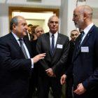 Ուրախ եմ «ԴԵԶԻ»-ում տեսնել հայ գիտնականների. նախագահն այցելել է գերմանական «ԴԵԶԻ» գիտահետազոտական կենտրոն (լուսանկարներ)