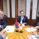 Դավիթ Տոնոյանն ընդունել է Հայաստանում Կարմիր խաչի միջազգային կոմիտեի պատվիրակության ղեկավարին