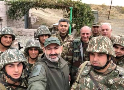 Եվ մեր անունն է հայկական բանակ․ Նիկոլ Փաշինյանը, Արթուր Վանեցյանը Արցախում են