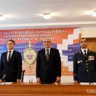Բակո Սահակյանը և Վալերիյ Օսիպյանը մասնակցել են ԱՀ ոստիկանության ծառայողի օրվան նվիրված միջոցառմանը