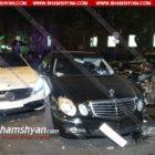 Արտակարգ դեպք Հանրապետության հրապարակում. Mercedes-ի հետապնդումն ավարտվել է վրաերթով և մի քանի մեքենաների ջարդով