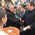 Գագիկ Ծառուկյանը նախընտրական վերջին հանդիպումն անցկացրել է Գյումրիում (տեսանյութ)