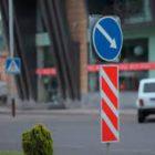 Լենինգրադյան և Շինարարների փողոցների խաչմերուկում կկատարվի երթևեկության կարգի փոփոխություն (լուսանկար)