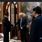 Գագիկ Ծառուկյանն ընդունել է բրիտանացի պատվավոր հյուրերի՝ Լորդ Մոդի և Բարոնուհի Ֆիննի գլխավորությամբ