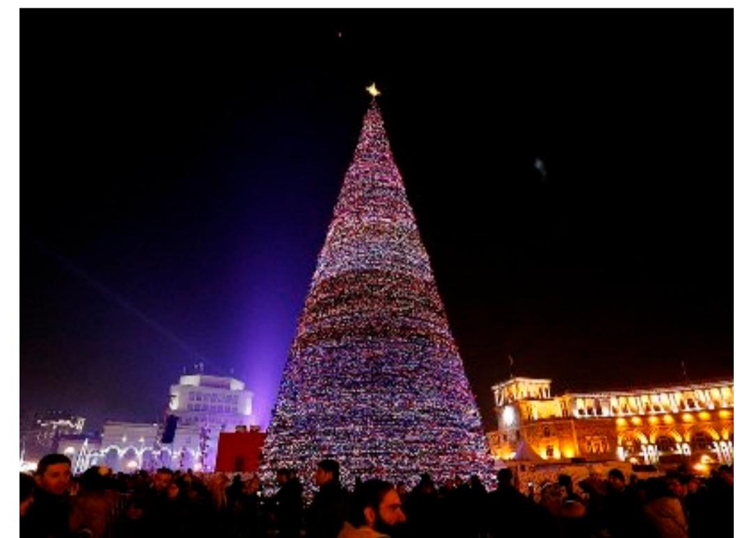 Ամանորի գիշերը Հանրապետության հրապարակում քաղաքացիներին կուրախացնեն հայկական էստրադայի արտիստները