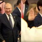 Պուտինը և Սաուդյան Արաբիայի արքայազնը անսովոր կերպով են ողջունել միմյանց