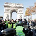 Ֆրանսիայում, ցույցերի հետ կապված, ավելի քան 140 մարդու են ձերբակալել