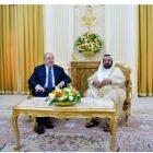 ՀՀ նախագահը հանդիպել է Շարժայի կառավարիչ Շեյխ, դոկտոր Սուլթան բին Մոհամմեդ Ալ Քասիմիի հետ