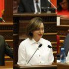 ԱԺ փոխնախագահներ են ընտրվել Ալեն Սիմոնյանը, Լենա Նազարյան եւ Վահե Էնֆիաջյանը
