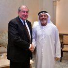Արմեն Սարգսյանը հանդիպել է «ALNOWAIS Investments» ընկերության հիմնադիր անդամ եւ նախագահ Հուսեին Ալ Նովայիսի հետ