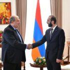 Նախագահ Սարգսյանը հանդիպել է ԱԺ նախագահի հետ