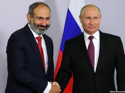Պուտինը շնորհավորել է Փաշինյանին ՀՀ վարչապետ նշանակվելու կապակցությամբ